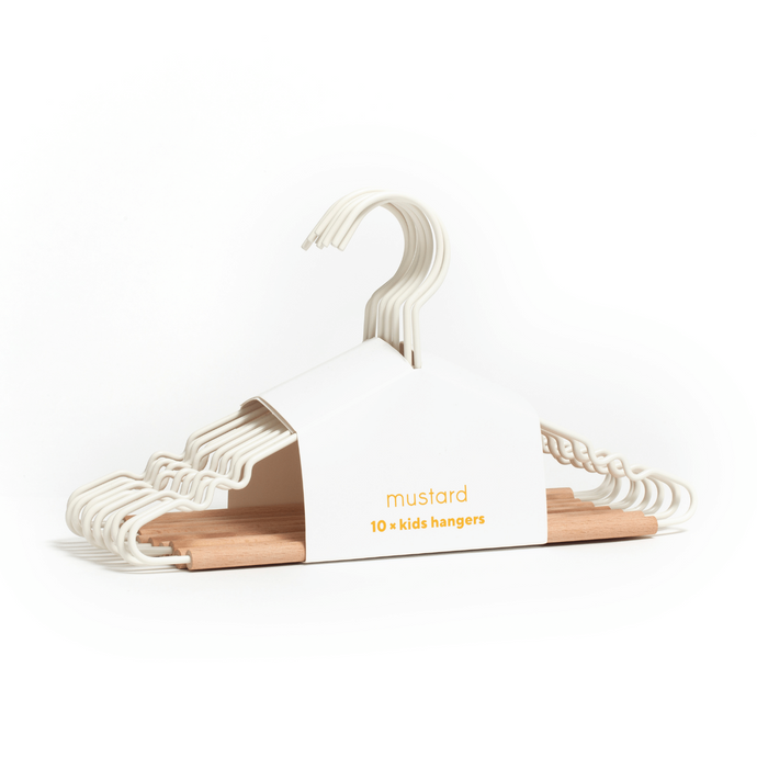 Mustard Made Kids Top Hanger in White