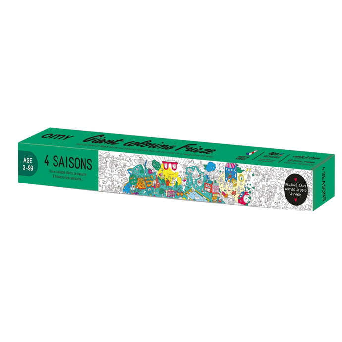 OMY 4 Seasons Giant Colouring Frieze