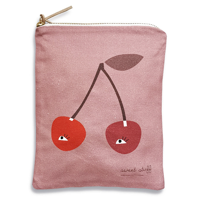 Pleased To Meet Cherry Pouch