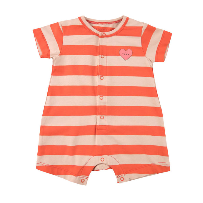 Tiny Cottons Heart Stripes One Piece
