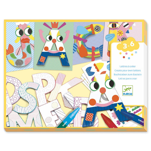 Djeco A World To Create - Letters