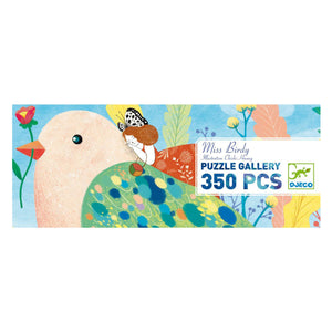 Djeco Gallery Puzzle 350pcs - Miss Birdy Puzzle