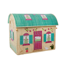 Load image into Gallery viewer, RICE Toy Basket House Theme