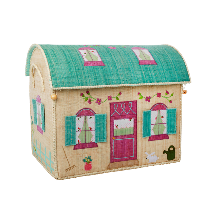 RICE Toy Basket House Theme