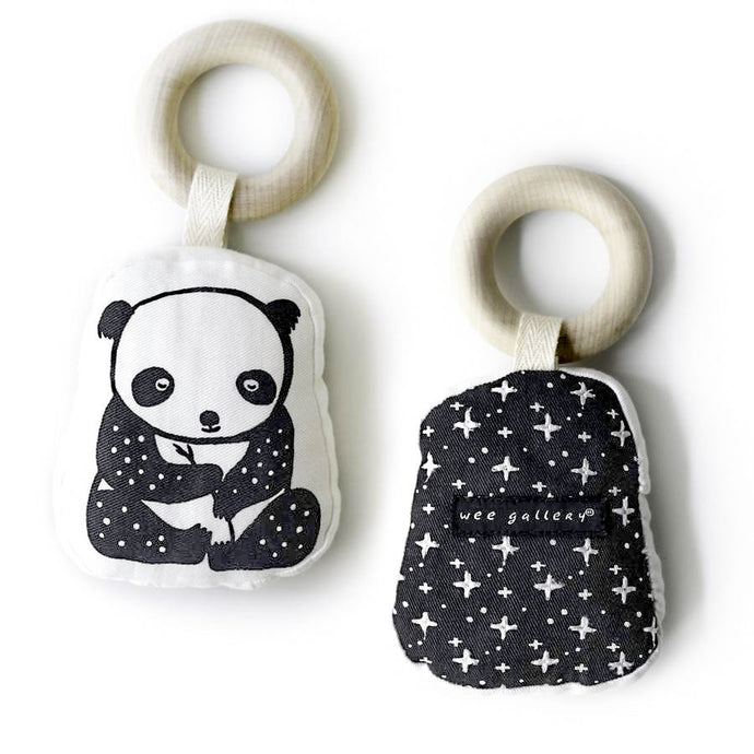 Wee Gallery Organic Panda Teether