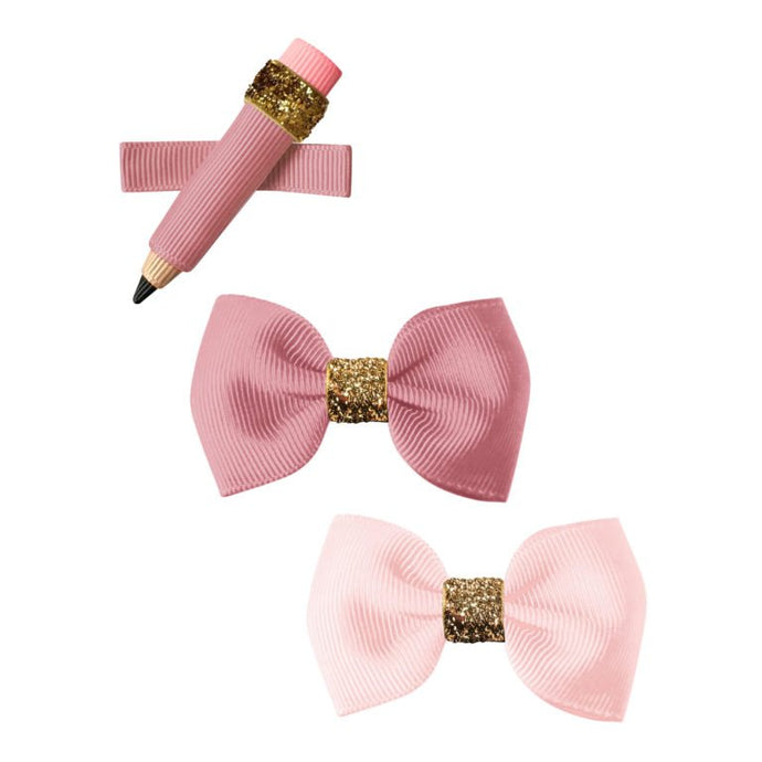 Milledeux Pencil Hairclips Pink