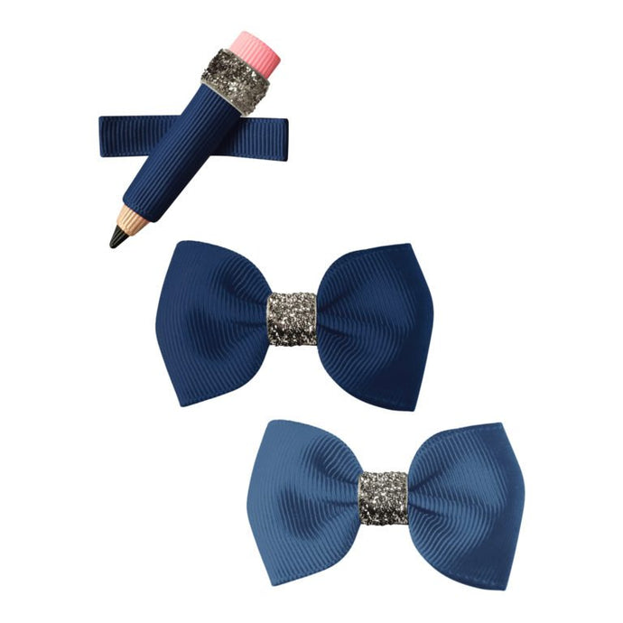 Milledeux Pencil Hairclips Blue