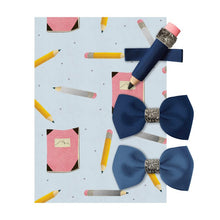 Load image into Gallery viewer, Milledeux Pencil Hairclips Blue