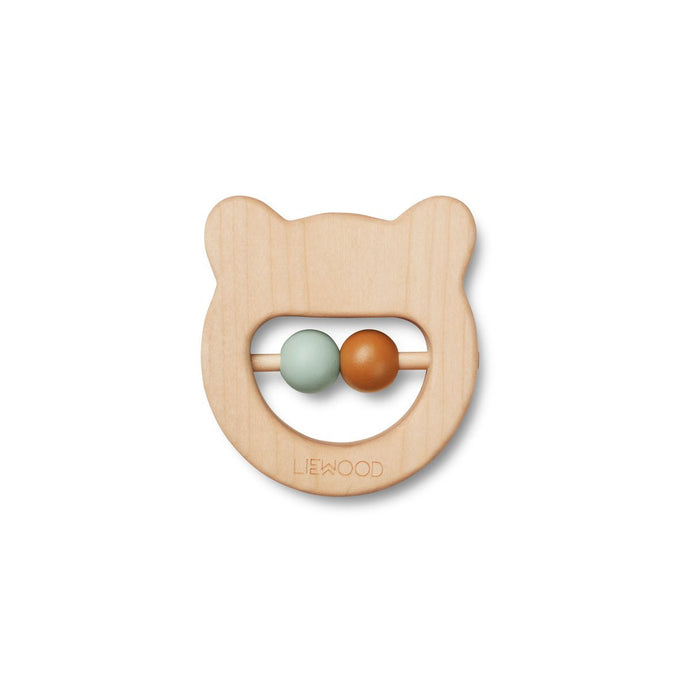 Liewood Ivalu Wood Teether - Bear