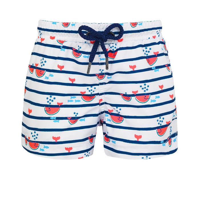 Sunuva Watermelon Whale Swim Shorts