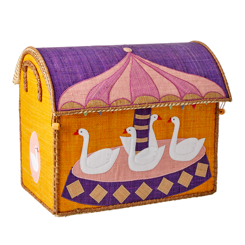 RICE Toy Basket Carousel Theme