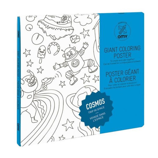 Omy Cosmos Giant Colouring Poster
