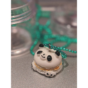 Pop Cutie Gacha Macaroon Animal Necklace