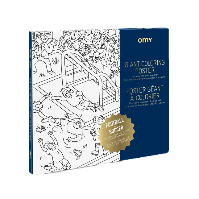 Omy Giant Colouring Poster