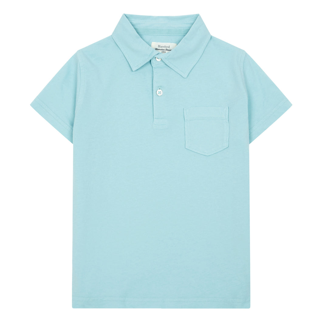 Hartford Jersey Pocket Polo