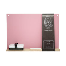 Load image into Gallery viewer, Kitpas Rikagaku A4 Blackboard Set Smokey Pink