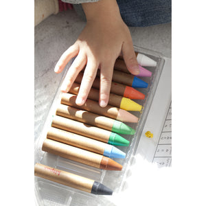 Kitpas Crayon Large 12 Colours