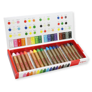 Kitpas Crayon Medium 16 Colours