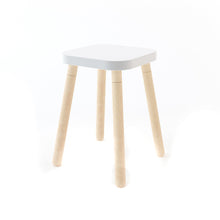 Load image into Gallery viewer, OEUF be good Square Stool