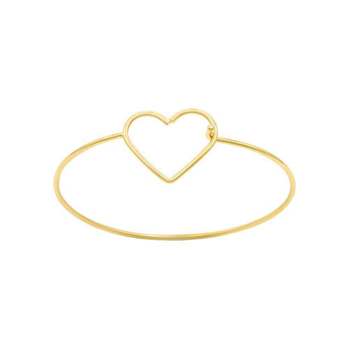 Laviandbelle Heart Bangle