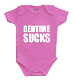 Premium Cotton Bed Time Baby Bodysuit