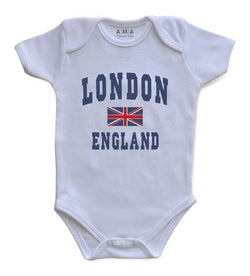 Premium Cotton London Baby Bodysuit