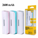 Remax 2600 mAH Power Bank for iPhone, iPad and Camera