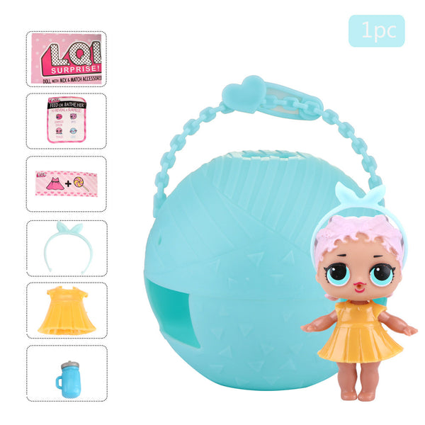 LOL Surprise Gift with 7 Layers Surprise Ball Series 1 Doll Blind Mystery Ball Toy
