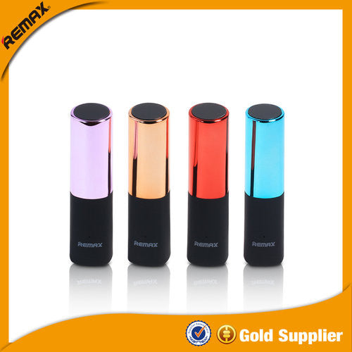 Remax Lipstick 2400 mAH Power Bank for iPhone, iPad and Camera