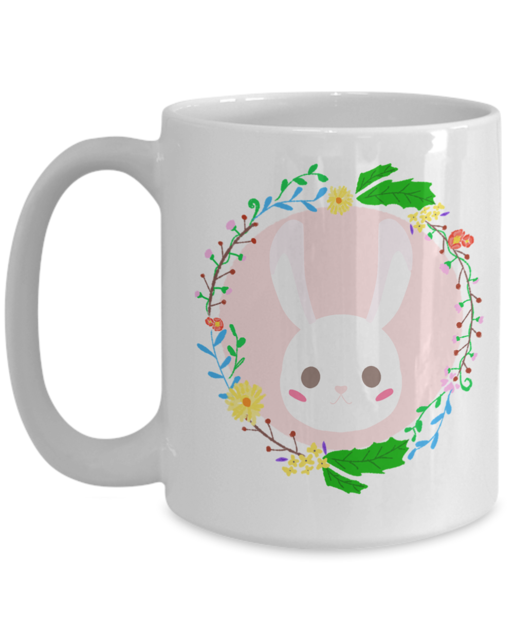 Easter mug pretty easter bunny coffee mug easter gift for mom easter mug pretty easter bunny coffee mug easter gift for mom coffee naturallysuburban negle Choice Image