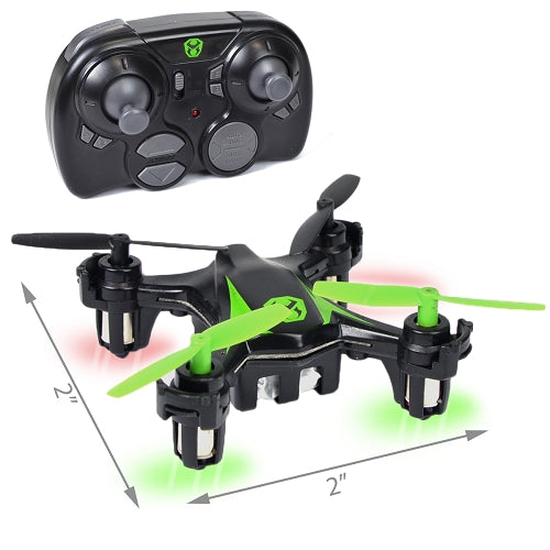Sky Viper M500 Nano Drone 2 W LED Lights Black