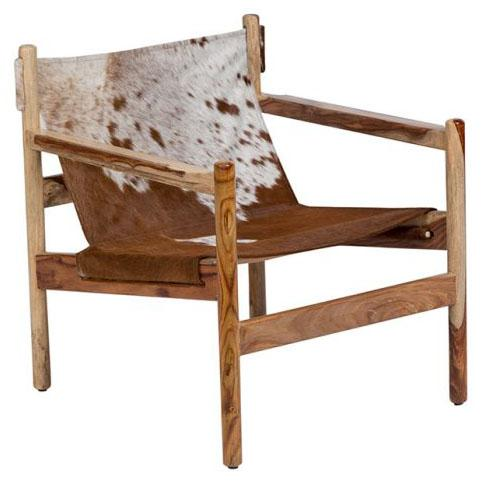 Cowhide Chair City Home Portland Oregon