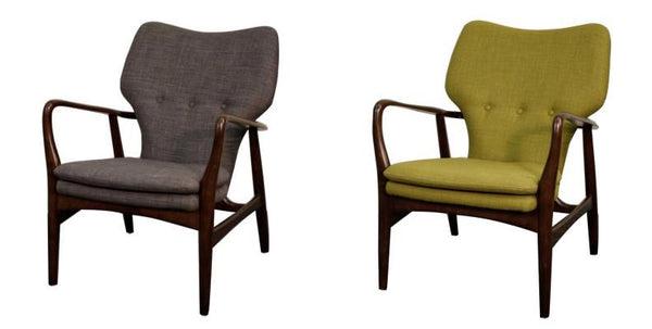 Colin Armchair Mid Century Modern Seating City Home Portland Oregon