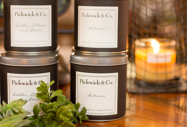 Pickwick Candles Fall Scents City Home Portland Oregon