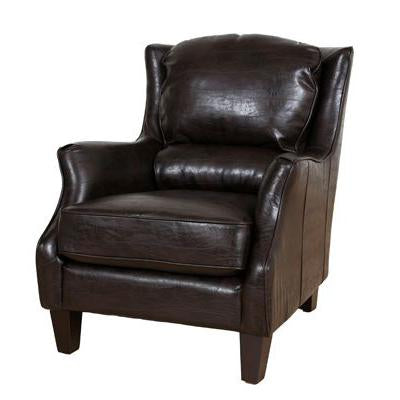 Garnett Leather Accent Chair Portland Oregon seating City Home