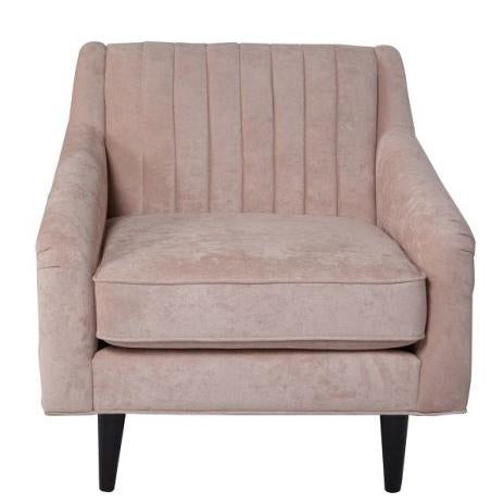 blush pink furniture city home seating retro vintage inspired chair