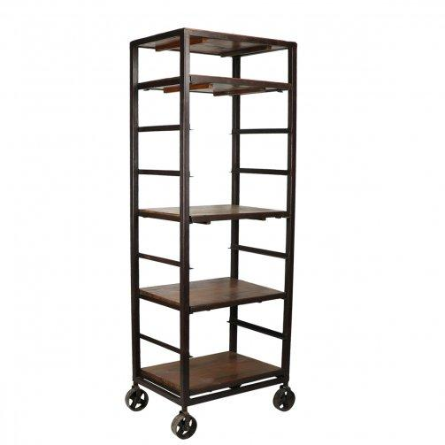 Metal & Wood Baker's Rack Stand - City Home - Portland Oregon - Furniture and Home Decor