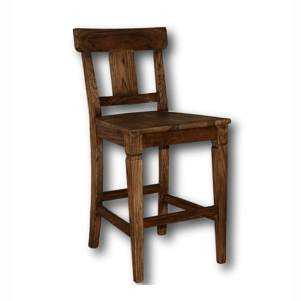 Emma Wood Counter Stool