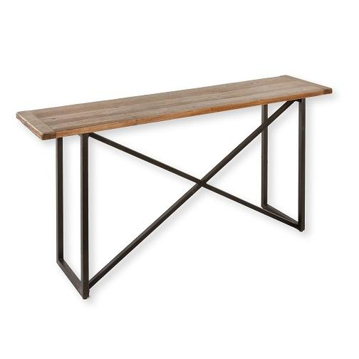 Landon Wood & Iron Counter Table - City Home - Portland Oregon - Furniture and Home Decor