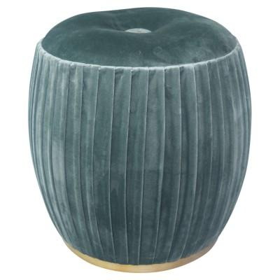 Bianca Tufted Round Ottoman - City Home - Portland Oregon - Furniture and Home Decor