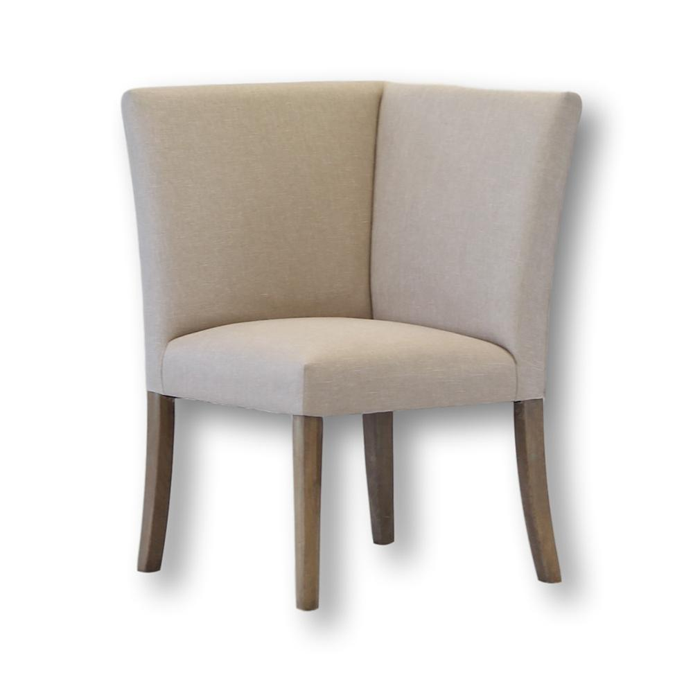 Megan Upholstered Dining Corner Chair - City Home - Portland Oregon - Furniture and Home Decor