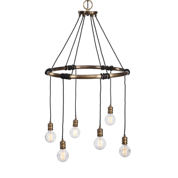 Milo 6 Light Chandelier - City Home - Portland Oregon - Furniture and Home Decor