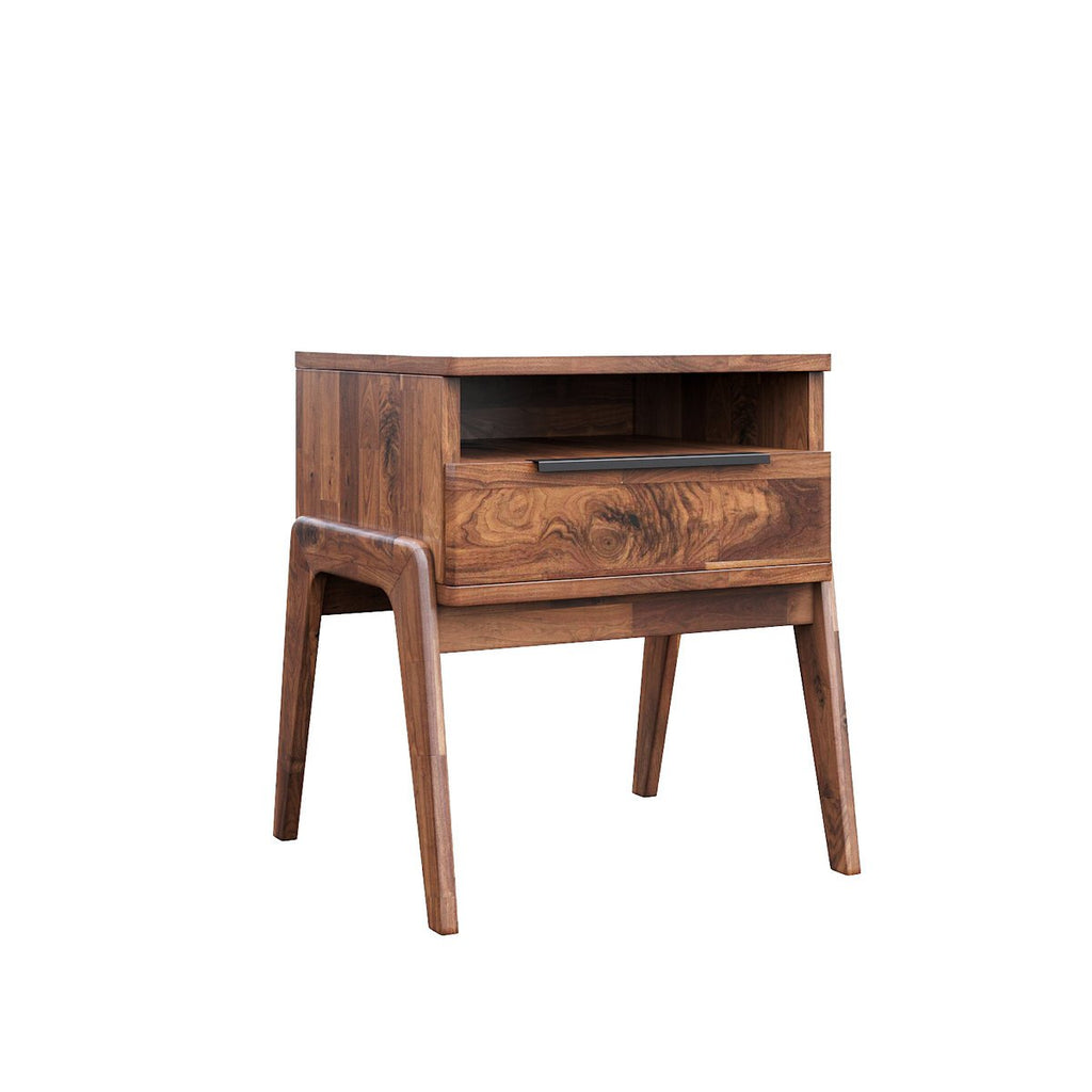 Remix Wood Nightstand - City Home - Portland Oregon - Furniture and Home Decor