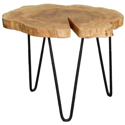Tress Wood Side Table