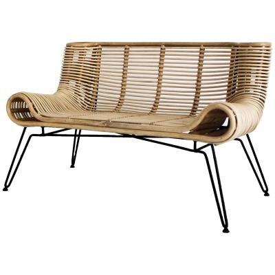 Botega Rattan Bench - City Home - Portland Oregon - Furniture and Home Decor