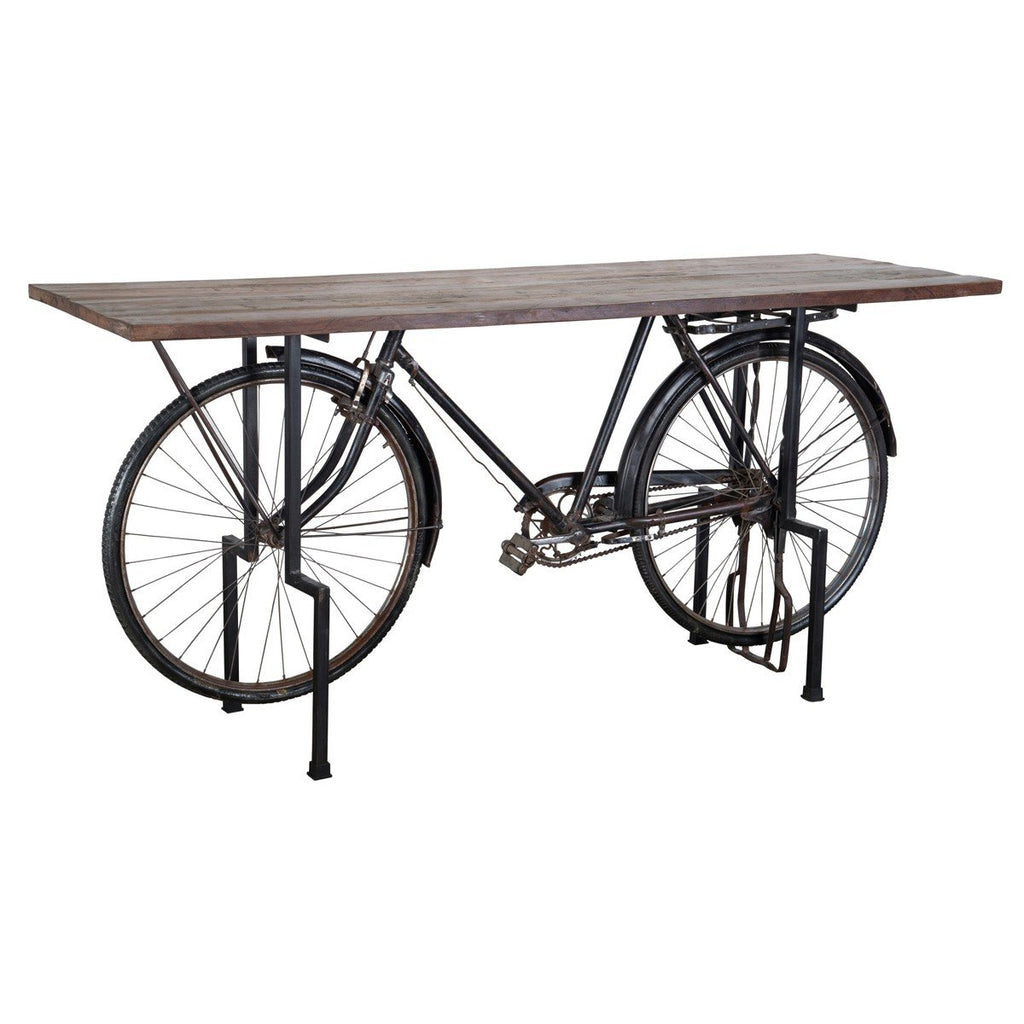 Bicycle Gathering Dining Table - City Home - Portland Oregon - Furniture and Home Decor