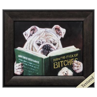 "Framed Animal Wall Art ""How To Pick Up"" - City Home - Portland Oregon - Furniture and Home Decor"