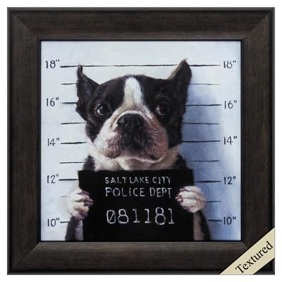 "Framed Animal Wall Art ""Mug Shot"" - City Home - Portland Oregon - Furniture and Home Decor"