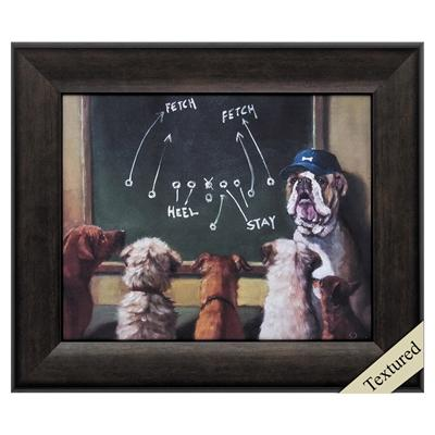 "Framed Animal Wall Art ""Game Plan"" - City Home - Portland Oregon - Furniture and Home Decor"