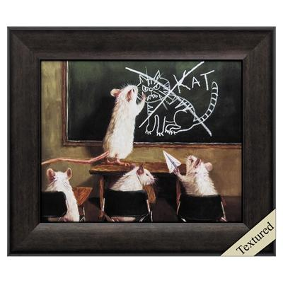 "Framed Animal Wall Art ""When the Cat is Away"" - City Home - Portland Oregon - Furniture and Home Decor"